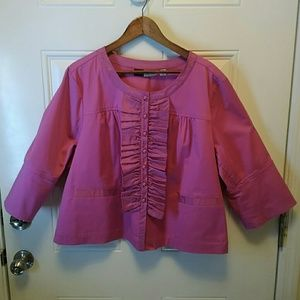 Simple By Chloe Dao Cropped Jacket